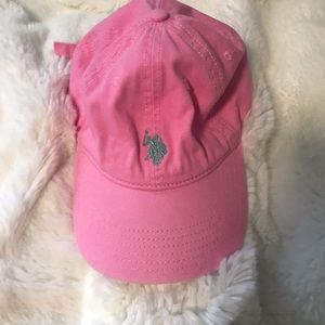 Pink POLO hat